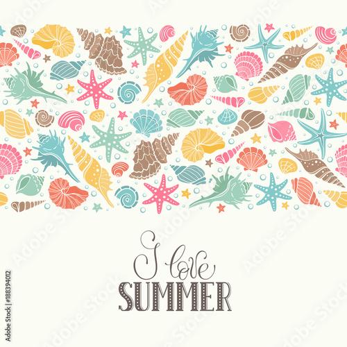 Fotografie, Obraz Summer time horizontal banner