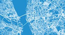 Urban Vector City Map Of Liverpool, England