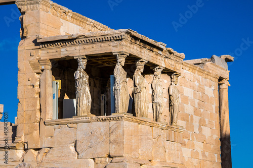 Photo The Caryatids of the Erechtheion