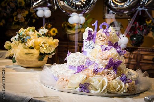 Fotografía  Torta di compleanno