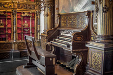 Old Wooden Organ