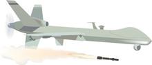 Aeromobile A Pilotaggio Remoto Con Missile