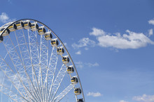 Giant Ferris Wheel With Number...