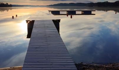 Pomost i Spokojne Jezioro