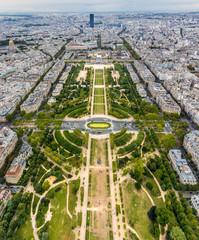 Fototapeta Paryż Champ de Mars in Paris
