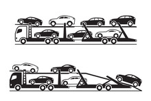 Car Transporter Trucks - Vecto...