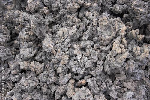 In de dag Stenen Pahoehoe lava, Punta Moreno, Isabela, Galapagos Islands, Ecuador