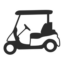 Golf Cart Silhouette