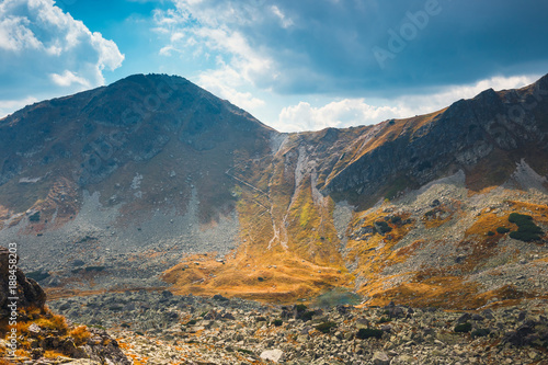 Foto op Canvas Zuid Afrika Autumn in Five lakes valley in High Tatra Mountains, Poland