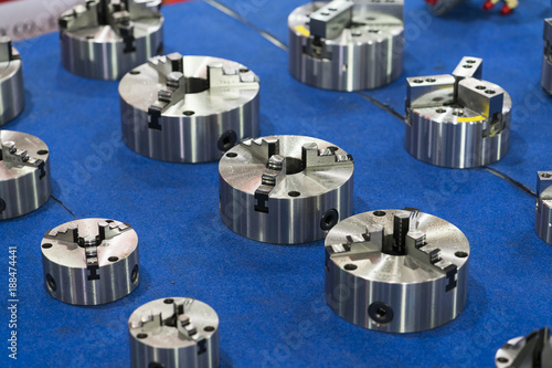High accuracy Turning chuck and soft jaw for precision part manufacturing indust Poster