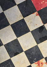 Abstract Textured Checkerboard...