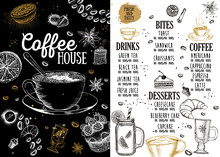 Coffee House Menu. Restaurant ...