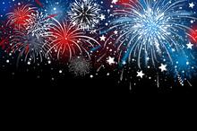 Fireworks Background Design Ve...