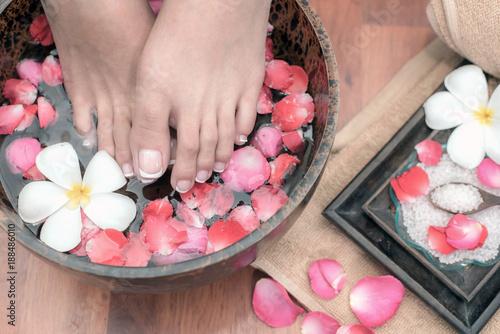 Poster Pedicure Spa Foot massage