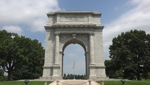 National Memorial Arch, Valley Forge National Historical Park, PA, USA.