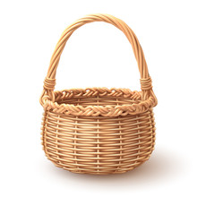 Rounded Basket Separate In Lay...