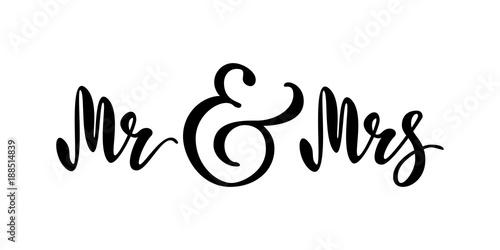 Fotografie, Obraz  Mr and Mrs