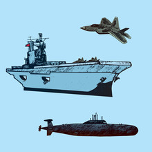 Aircraft Carrier Typical With ...
