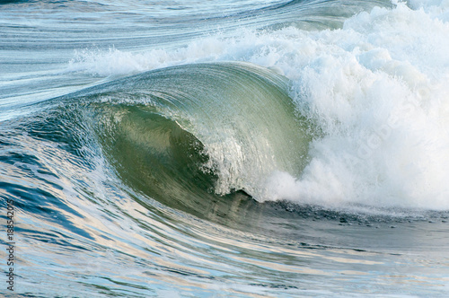 Waves cresting on the Atlantic Ocean. Poster