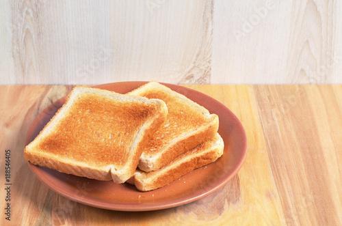 Fotografía Slices of toast bread