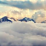 sceniczny krajobraz alpejski - 188546663