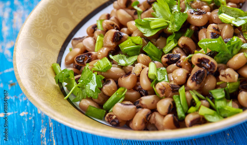 Southern Style Vegan Black Eyed Peas Canvas-taulu