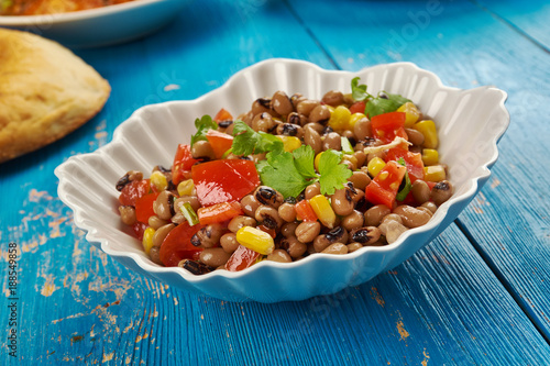 Fotografia, Obraz  Southern Black-eyed Pea Salad