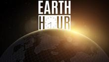 Earth Hour. Futuristic Planet ...
