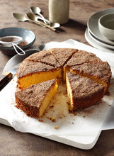 Polenta Cocoa Cake