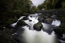 River Through Rocks