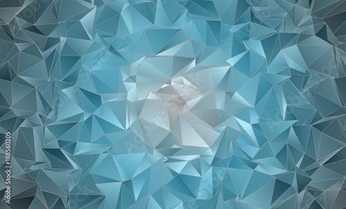 Foto op Aluminium ZigZag Abstract Polygonal background