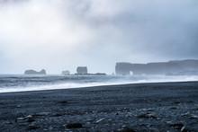 Black Sand Beach Of Reynisfjara, Vik