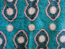 Colorful African Fabric Form T...