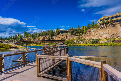 Photo Deschutes River Overlook in Bend Oregon