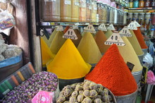 Spices In The Medina Of Marrakech