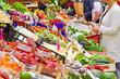 Markt in Bozen zur Frühlingszeit
