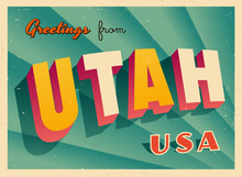 Vintage Touristic Greetings Fr...