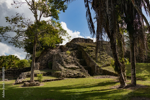 Fotografie, Obraz  Ancient Mayan Ruins at Kohunlich Costa Maya