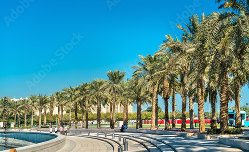 Photo  Mia Park at Museum of Islamic Art in Doha, Qatar