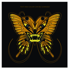 Amazing Butterfly Vector Illus...