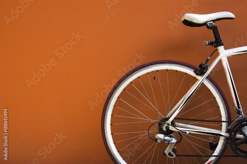 In de dag Fiets Parking bike for relax.