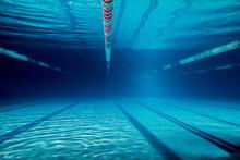 Underwater Picture Of Empty Sw...