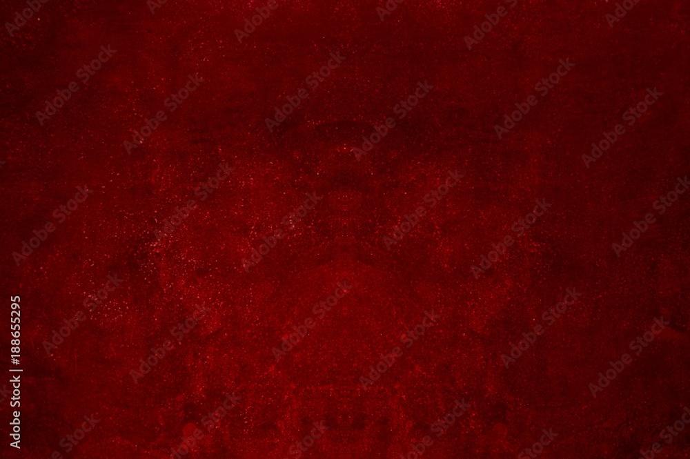Fototapeta Rote schmutzige ungleichmäßige Textur
