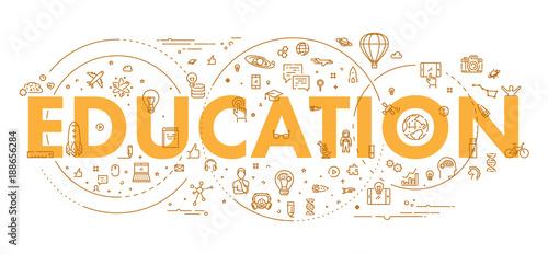 koncepcja-sieci-web-linii-do-edukacji