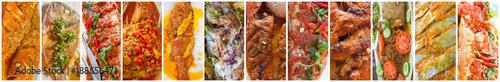 Fotografie, Tablou  poissons créoles à toutes les sauces