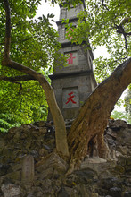 An Old Oblisk Near Hoan Kiem L...