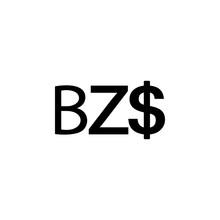 Sign Belize Dollar Icon. Eleme...