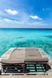 Seat at Maldives sea.