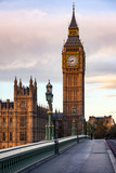 Fototapeta Big Ben - Elizabeth Tower or Big Ben Palace of Westminster London UK