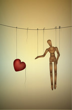 Need Love Concept, Marionette ...